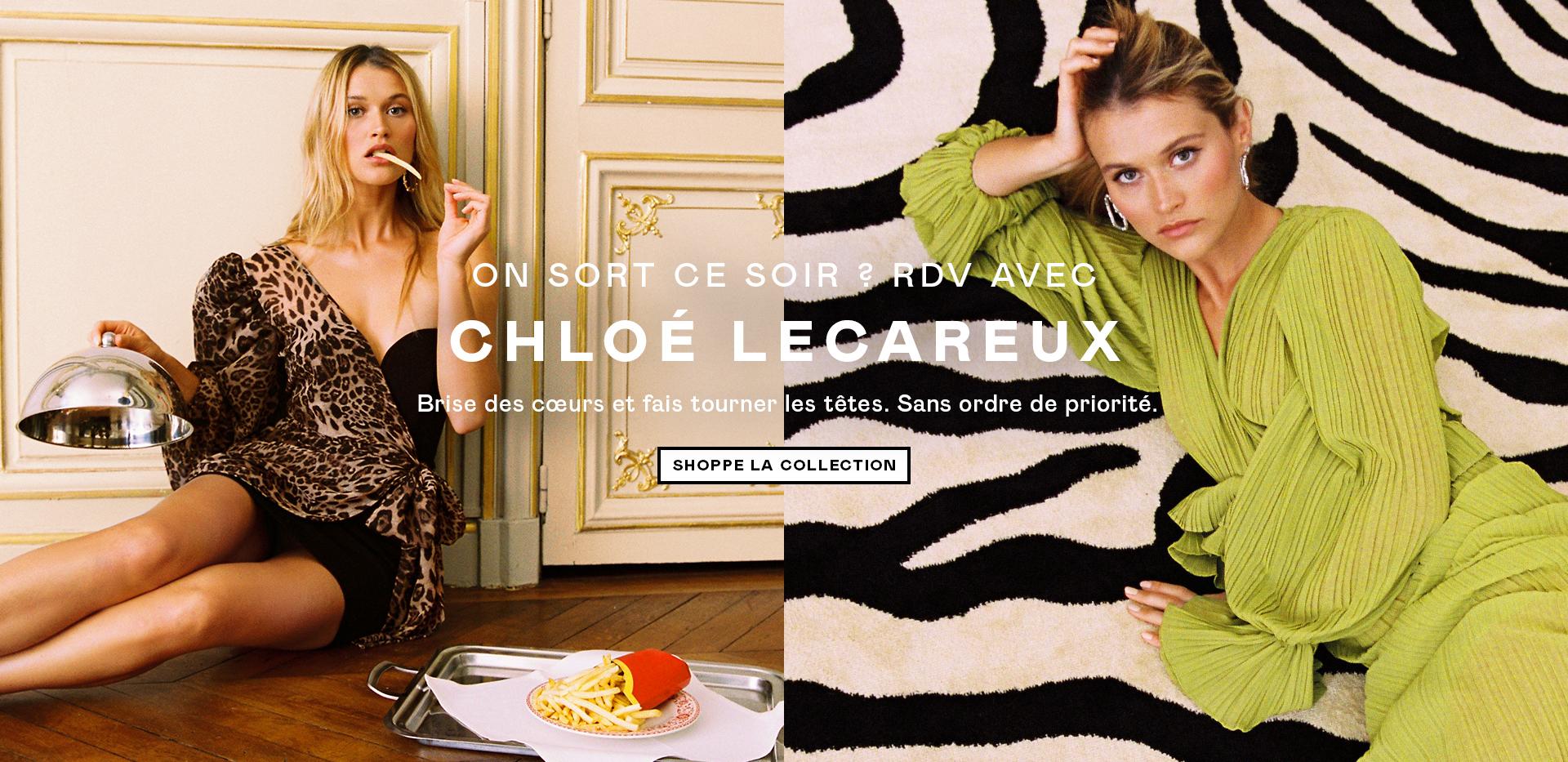chloe lecareux - shoppe la collection