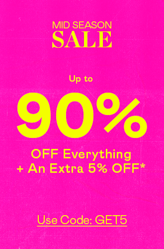 Up To 90% Off Everything (!!)