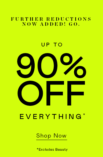 Up To 90% Off (!!)
