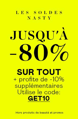 JUSQU'À -80%