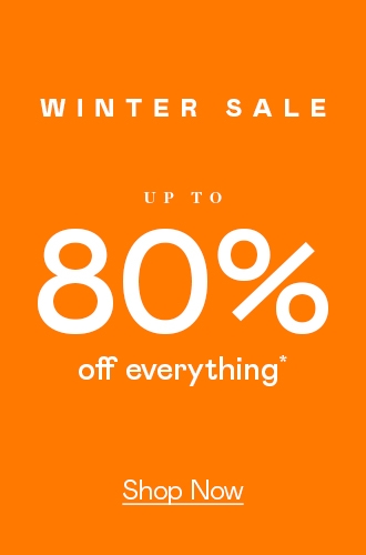 Up To 80% Off Everything (!!)